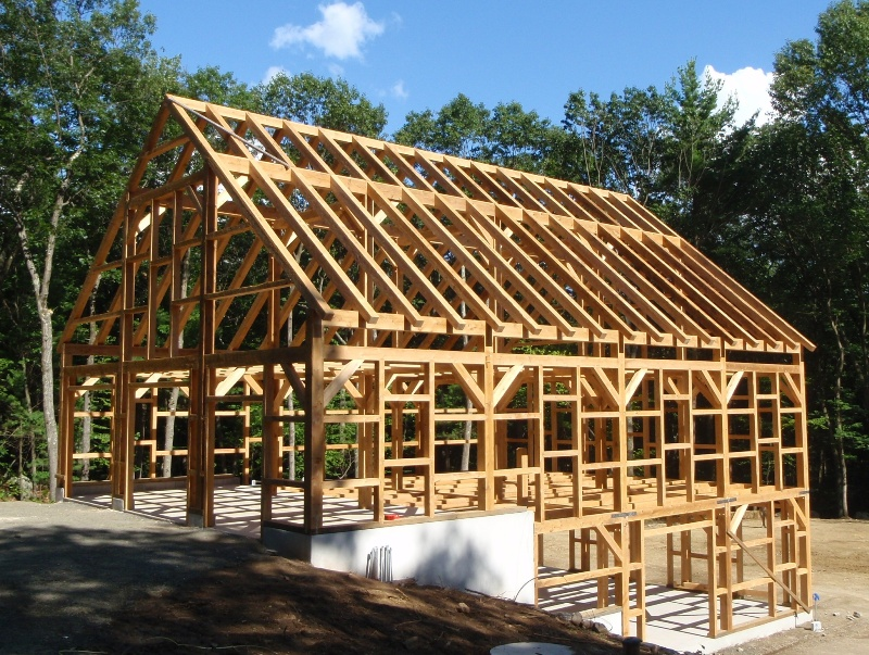 Suitable for framing the dangers and benefits of frame for Post and beam barn plans and pricing
