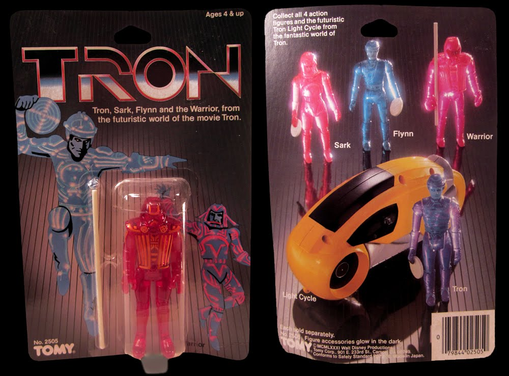 Tron Warrior Carded Figure by Tomy