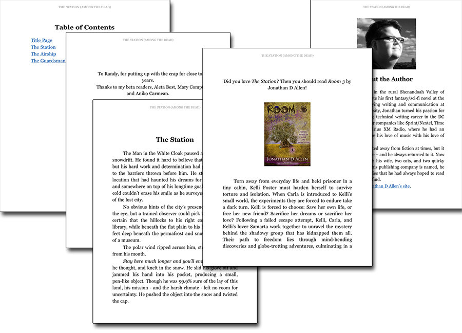 Draft2Digital - Kindle Sample